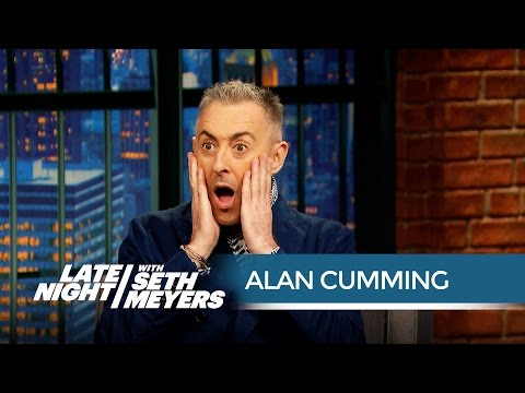 Alan Cumming Is Not a Musicals Guy  Late Night with Seth Meyers