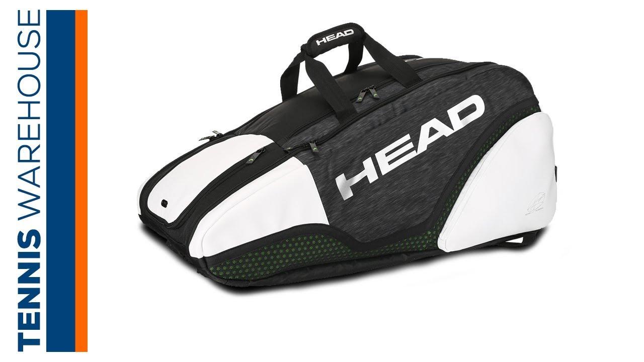 Head Djokovic Supercombi 9 Pack Tennis Bag Youtube