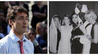 Canada: l'imbarazzante giovane Trudeau che si colorava la pelle di nero