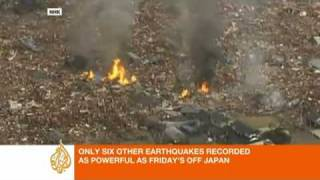 Japan earthquake unleashes tsunami - Asia-Pacific - Al Jazeera English.flv