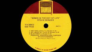 Stevie Wonder - Joy Inside My Tears (Tamla Records 1976)