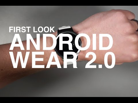 Android Wear 2 0 First Look and Tour!