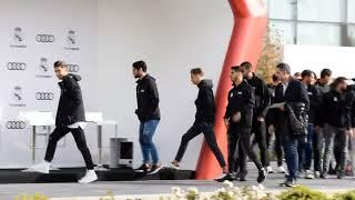 Entrega de coches a los jugadores del Real Madrid