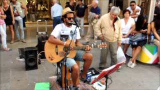 JOHNNY B. GOODE - Edwin One Man Band - Folk N' Roll Tour 2014 - Milano