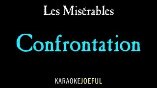 Confrontation Les Miserables Authentic Orchestral Karaoke Instrumental