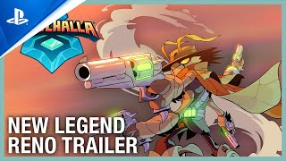 Brawlhalla: New Legend – Reno The Bounty Hunter Trailer | PS4