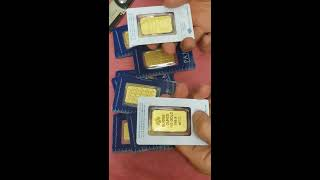 Unboxing 20 Gorgeous 1 Oz Gold Bars | PAMP New Design Bars