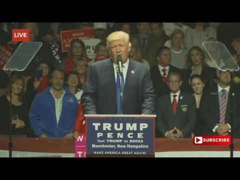 Download Full Speech  Donald Trump FANTASTIC Rally in Manchester, New Hampshire 11 7 2016