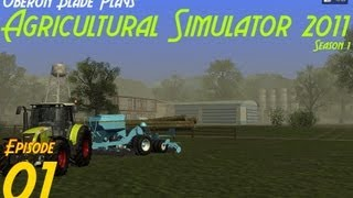 Let's Play Agricultural Simulator 2011 Episode 1 - Starting off