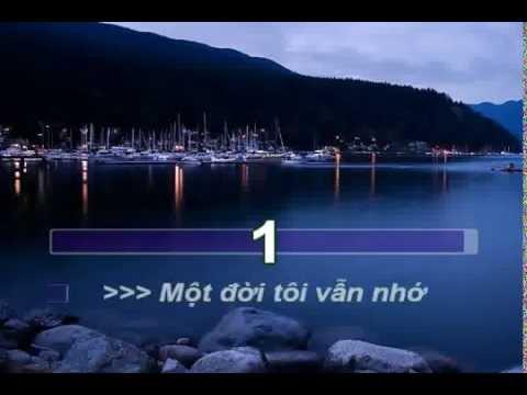 Mot Doi Van Nho Dieu Huong karaoke