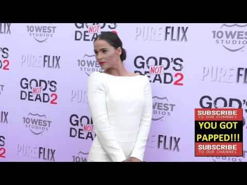 Gianna Simone at the Gods Not Dead 2 Premiere at Directors Guild in West Hollywood
