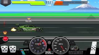 Pixel car race: probando el Acura NSX