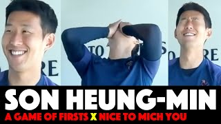 Son reveals what he really thinks of BTS and Blackpink | Nice to Mich You