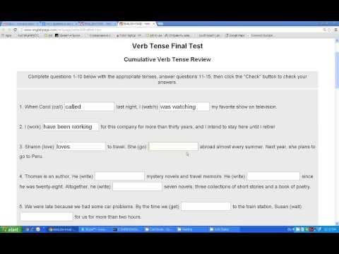 Presrnt Simple Тест - preceptmobility