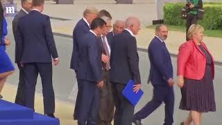 Opilý prezident Evropské komise na summitu NATO 2018
