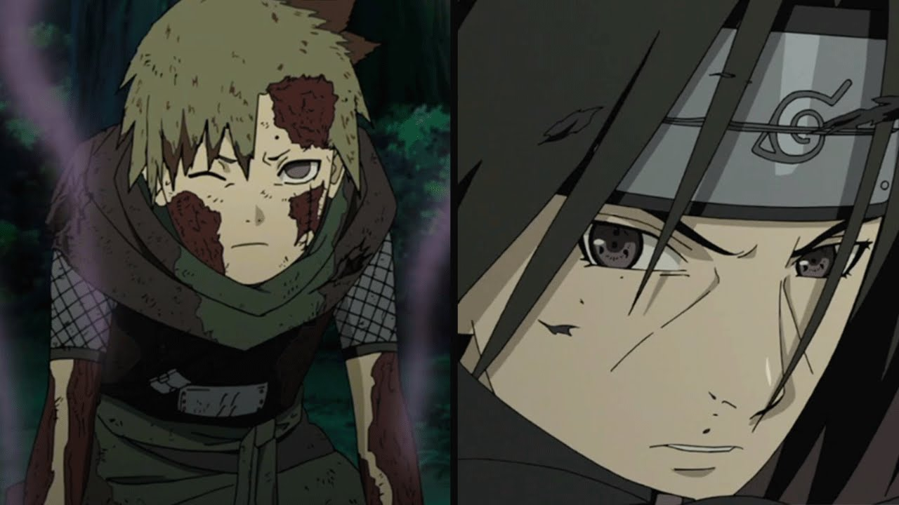 AMATERASU IS BORN! Itachi & Juzo Vs Yagura