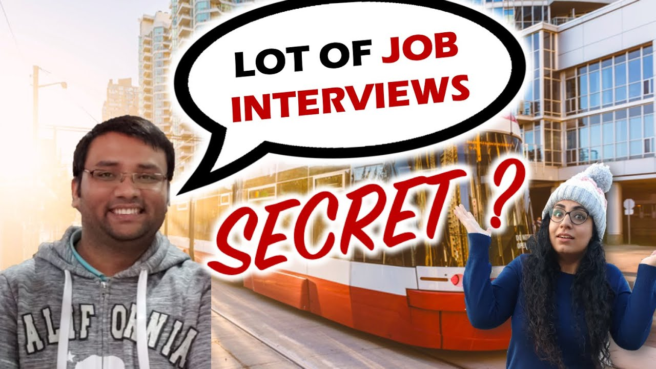 He got 7 job interviews from Canada, while sitting in India - with ZERO references 😲