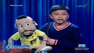 Wowowin: Young ventriloquist, pinahanga si Kuya Wil