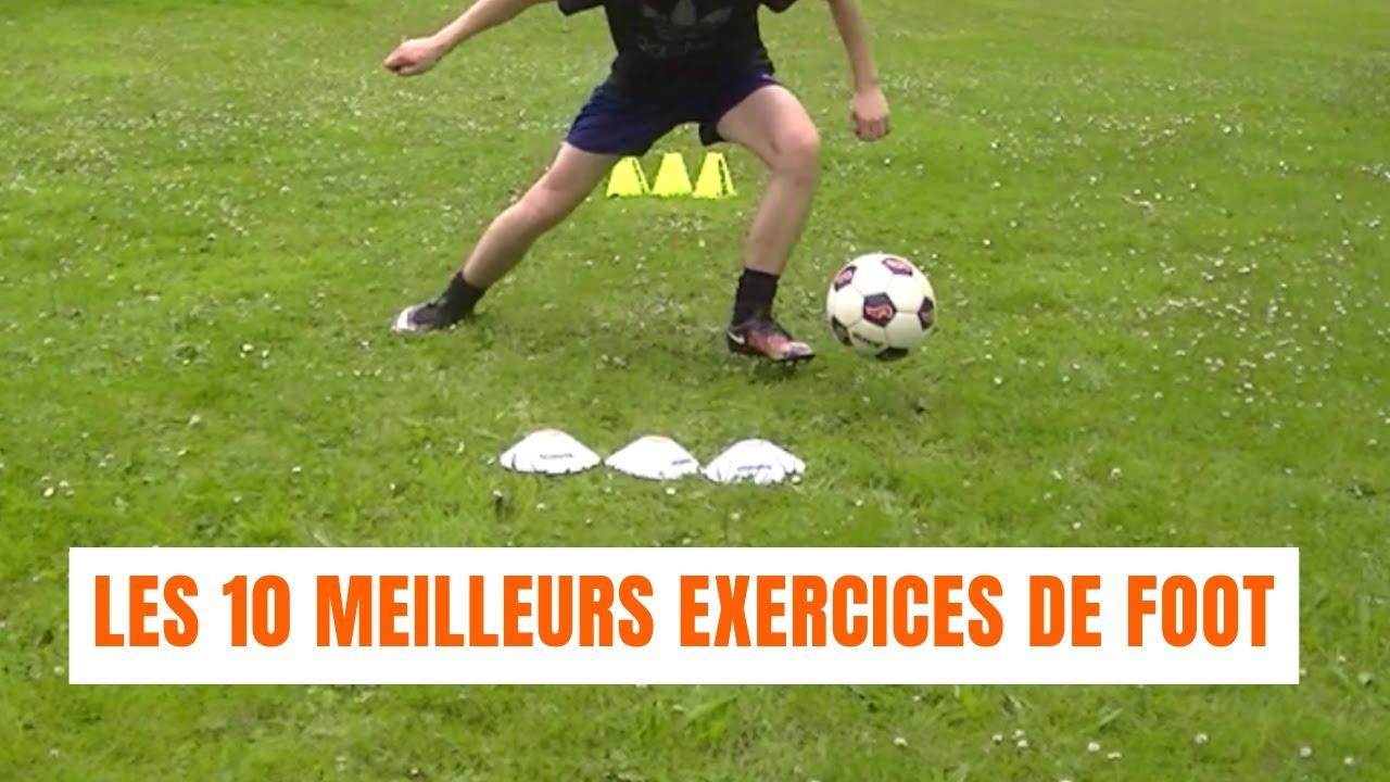 Les 10 Meilleurs Exercices De Foot Youtube