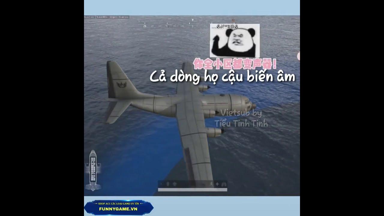 [PUBG Trung Quốc Vietsub] Tấu hài PUBG- Khi KyKy chơi game part 10