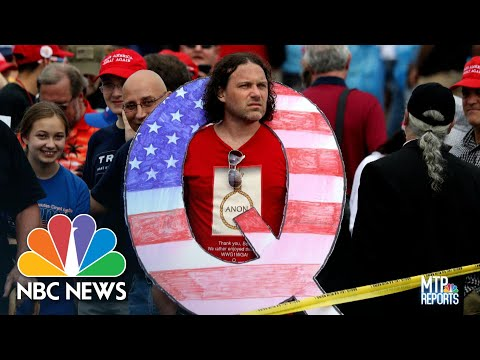 QAnon And Conspiracy Theories: An American Political Tradition | Meet The Press Reports | NBC News