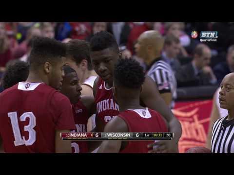 Big Ten Basketball Tournament Quarterfinal-Indiana vs Wisconsin Mar 10, 2017