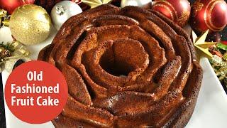 Old Fashioned Fruit Cake