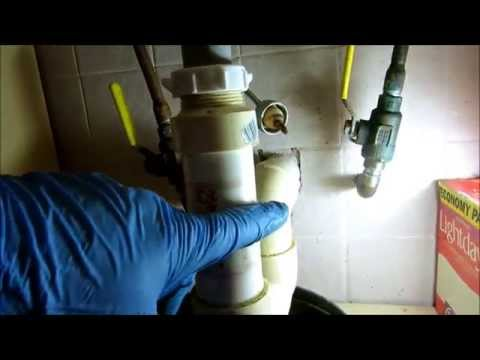 plumbing:backed up sink drain,snake,and repipe
