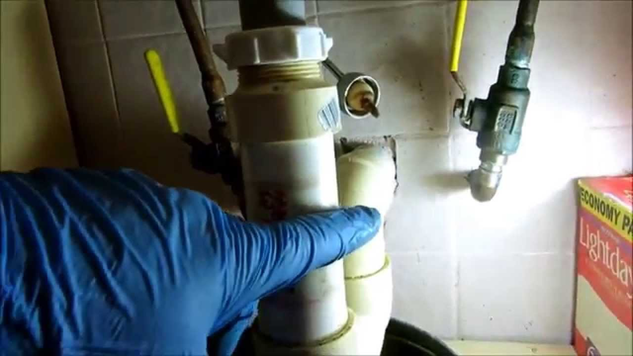 Bathroom Sinks Backing Up plumbing:backed up sink drain,snake,and repipe - youtube