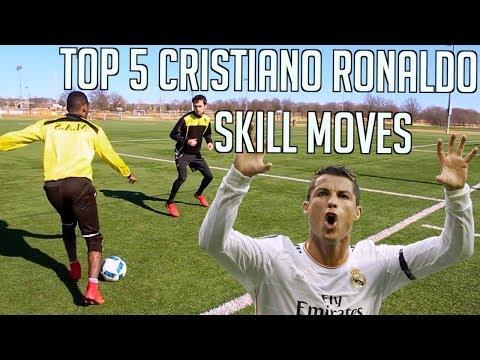 TOP 5 CR7 SKILL MOVES - CRISTIANO RONALDO FOOTBALL SKILLS