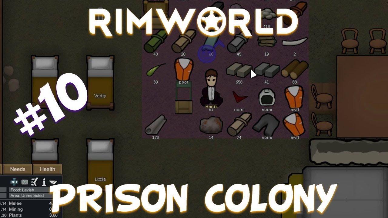 👨🚀 [10] Recruiting | Rimworld prison colony