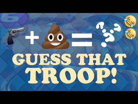 GUESS THAT TROOP BY EMOJI