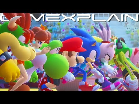 Mario & Sonic at the Olympic Games Tokyo 2020 - Opening Cutscene