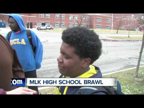 Students arrested after brawl at MLK High School