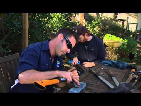 The Garden Gurus - Garden Tool Maintenance