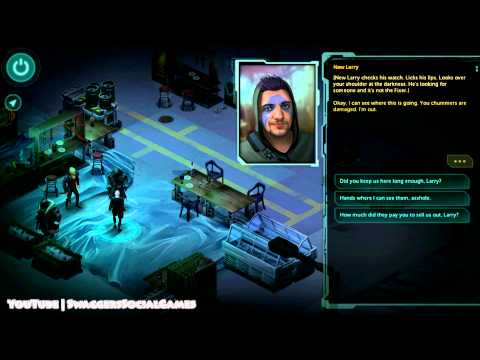 Shadowrun Returns - Pt. 1 - Down and Out |