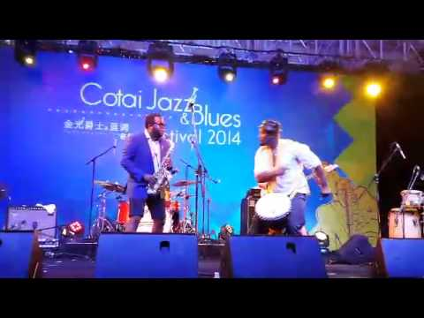 Winners of Cotai Jazz and Blues Festival, Macau October 2014