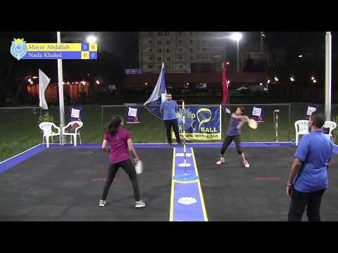 Mayar Abdallah vs Nada Khaled - Speedball Heliopolis Open 2017 - Women's R16