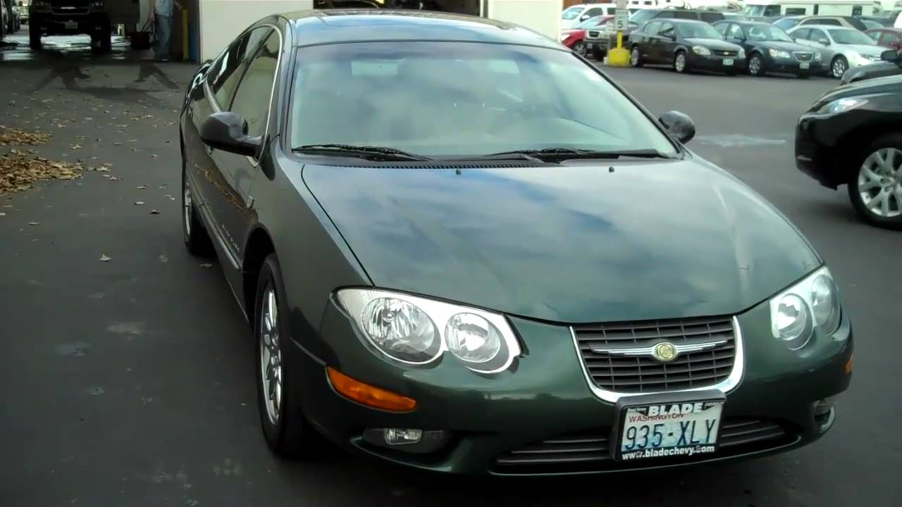 2000 Chrysler 300 2001 Chrysler 300m Youtube