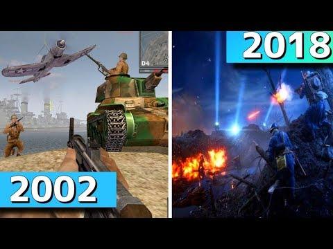 「Battlefield」進化の歴史【バトルフィールド5まで】