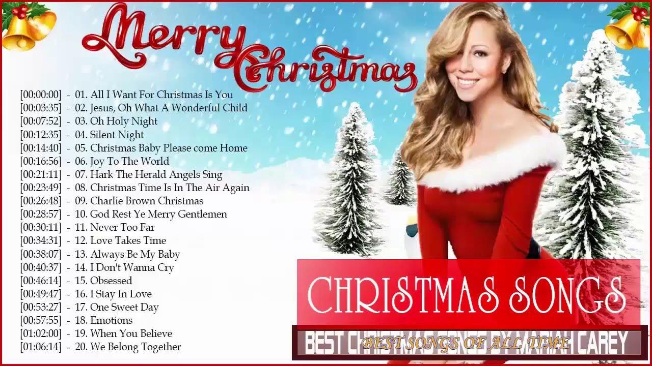 Mariah Carey Merry Christmas Full Album Best Christmas Songs by Mariah Carey