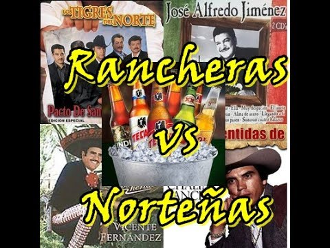 Rancheras vs Norteñas