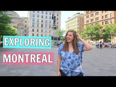 Solo Travel in Montreal for the First Time || Canada Travel Vlog!