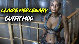 Resident Evil 2 RE Claire Redfield Claire Mercenary Outfit Mod