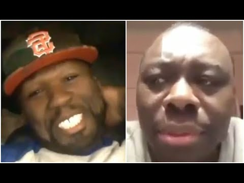 Shay Diddy - 50 Cent Reacts To Jimmy Henchman Crying After Getting 2 Life Sentences