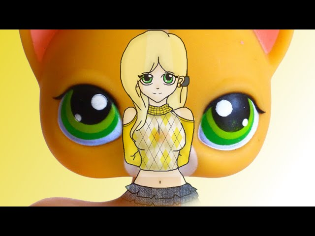 Lps Angelina Davis Human Form Speed Paint For Sophiegtv Youtube