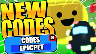 ALL EGG SIMULATOR CODES (FREE EPIC PET AND RUBIES) - Roblox