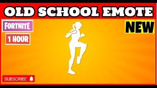 Fortnite - OLD SCHOOL EMOTE (1 heure version) ROX SKIN DANCE FORTNITE (EN)