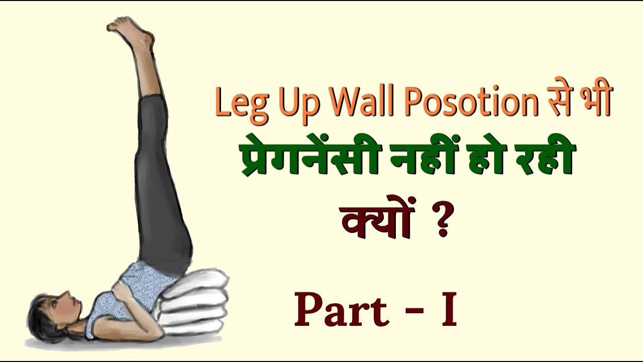Leg up wall position - प्रेगनेंसी में क्यों हेल्प नहीं कर रहा | Part 1
