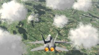 Aerofly FS F-18 Sunday Flight